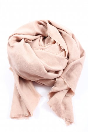 Zara Accesoires Knitted Scarf pink casual look