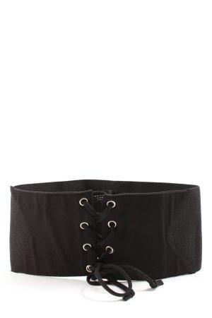 Zara Accesoires Pasek do założenia w talii czarny W stylu casual