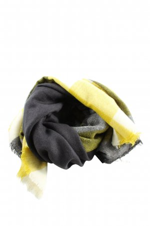 Zara Accesoires Wollschal abstraktes Muster Casual-Look