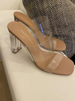 Zara High Heel Sandal nude