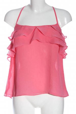 Zara Blusentop pink Casual-Look