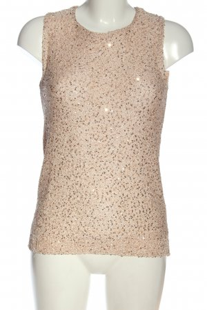 Zara ärmellose Bluse nude Elegant