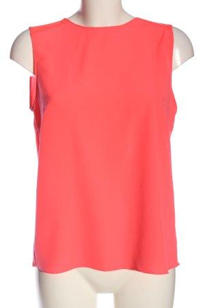 Zara ärmellose Bluse rot Business-Look