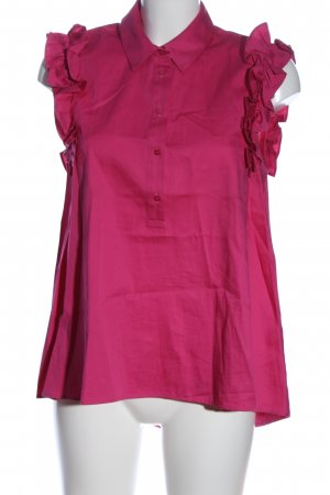 Zara ärmellose Bluse pink Business-Look