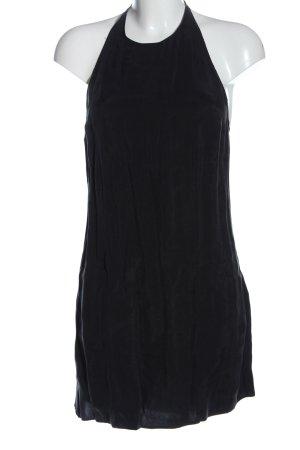 Zara Halter Dress black casual look