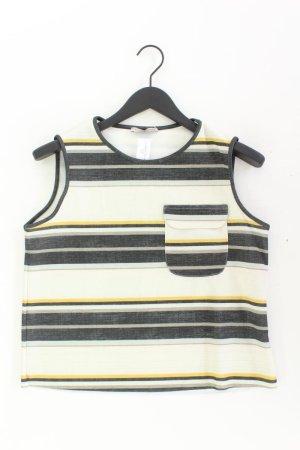 Zara Ärmellose Bluse Größe L grün aus Polyester