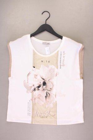 Zara Ärmellose Bluse Größe M creme aus Viskose