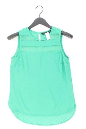 Zara Ärmellose Bluse Größe S grün