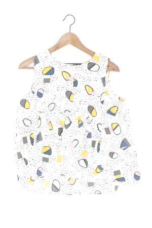 Zara Ärmellose Bluse Größe S weiß aus Polyester
