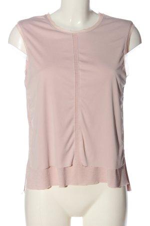 Zara ärmellose Bluse pink Casual-Look
