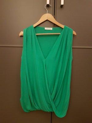 Zara Sleeveless Blouse green