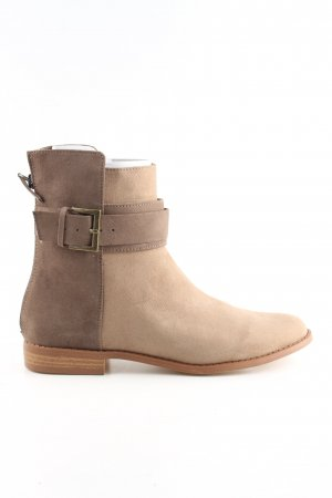 Zara Ankle Boots creme Casual-Look
