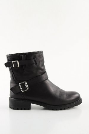 Zara Ankle Boots schwarz Casual-Look
