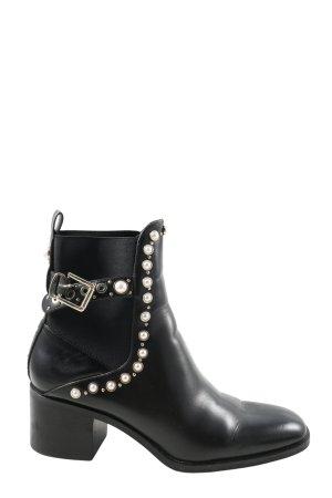 Zara Low boot noir style décontracté