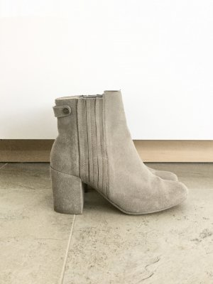 Zara Ankle Boots Grau