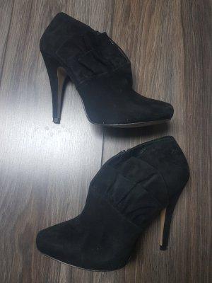 Zara Ankle Boots High Heels Leder Gr. 40