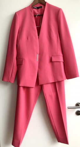 Zara Garnitur biznesowy różowy