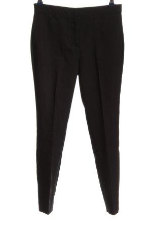 Zara Spodnie garniturowe czarny W stylu biznesowym