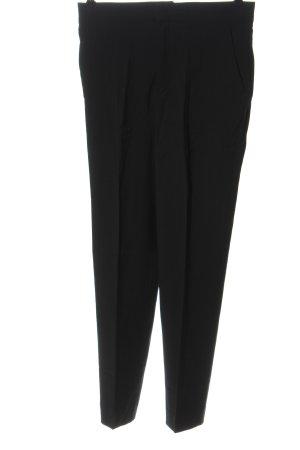 Zara Anzughose schwarz Business-Look
