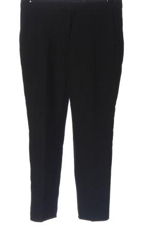 Zara Anzughose schwarz Casual-Look