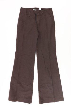 Zara Anzughose Größe 34 braun aus Baumwolle