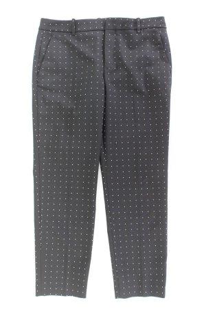 Zara Anzughose Größe L gepunktet schwarz aus Polyester