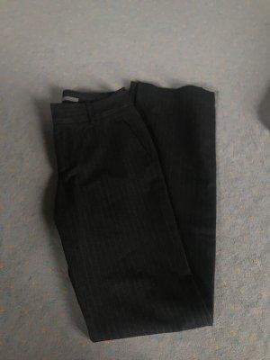 Zara Pantalón de pinza gris antracita