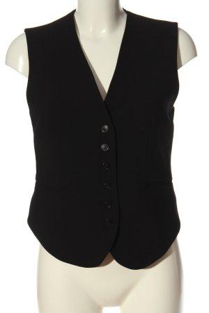 Zara Chaleco de vestir negro estilo «business»