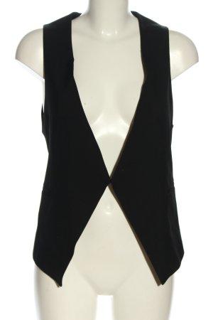 Zara Anzugweste schwarz Casual-Look