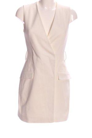 Zara Gilet de costume blanc cassé style d'affaires