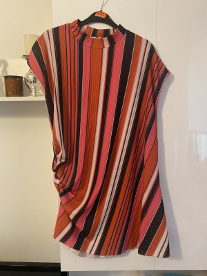 Zara Asymetrisches Shirt Gestreift L