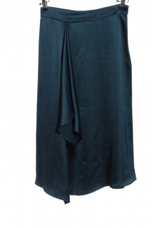 Zara Asymmetrie-Rock blau Casual-Look