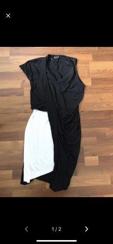 Zara asymmetrisches schwarzes Kleid
