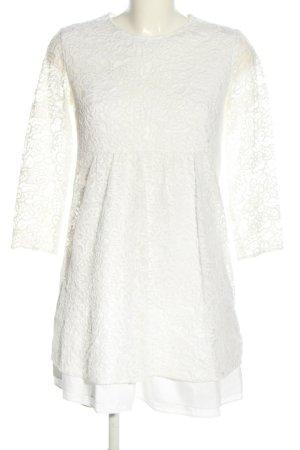 Zara Babydoll Dress white elegant