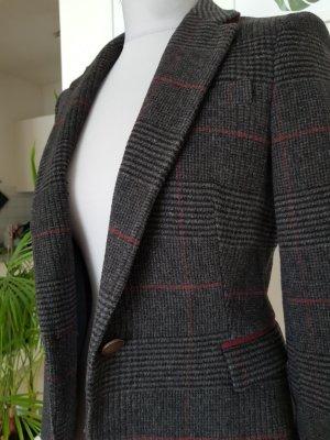 Zara Basic Blazer en laine multicolore