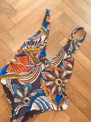 Zara Swimsuit multicolored mixture fibre