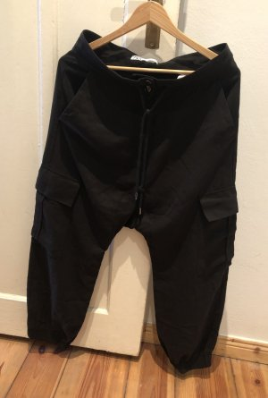Zara Pantalone largo nero
