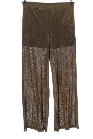 Zara Baggy Pants braun schlichter Stil