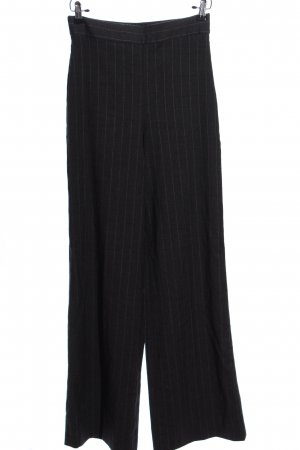 Zara Baggy Pants schwarz Allover-Druck Business-Look