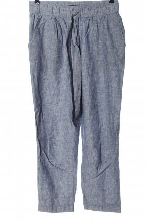 Zara Baggy Pants blue flecked casual look