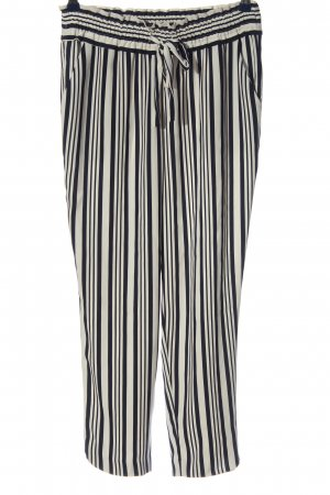 Zara Baggy Pants black-natural white allover print casual look
