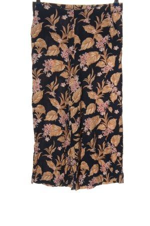 Zara Baggy Pants Allover-Druck Casual-Look