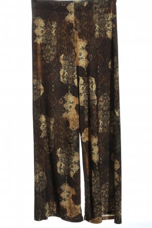 Zara Baggy Pants allover print elegant