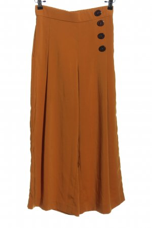 Zara Pantalon «Baggy» bronze style décontracté