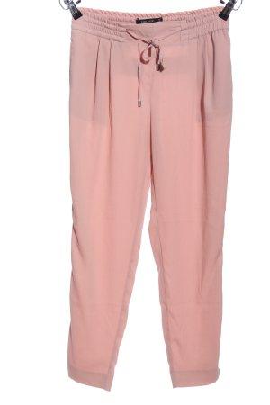 Zara Baggy broek roze casual uitstraling