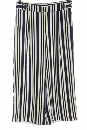 Zara Baggy Pants schwarz-weiß Allover-Druck Casual-Look