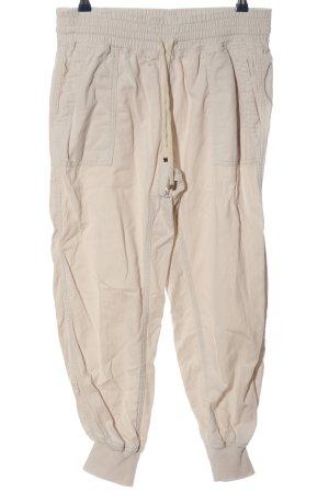 Zara Pantalon «Baggy» crème style décontracté