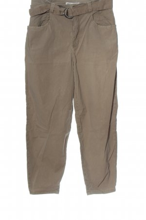 Zara Baggy Pants hellgrau Casual-Look