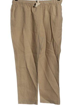 Zara Baggy Pants brown casual look