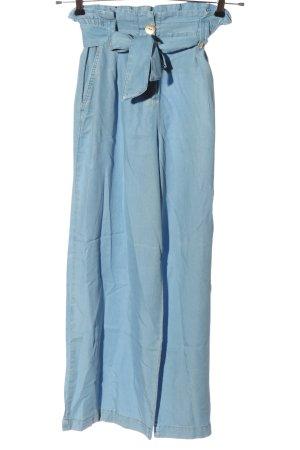 Zara Baggy Pants blau Casual-Look